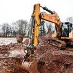 Ausbau der Flächen- und Ringdrainge sowie der Sickerschächte auf einer Sportanlage in Köln Porz - hohe Dioxin Kontamination